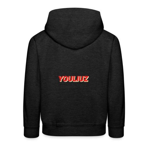 Youliuz merchandise - Kinderen trui Premium met capuchon