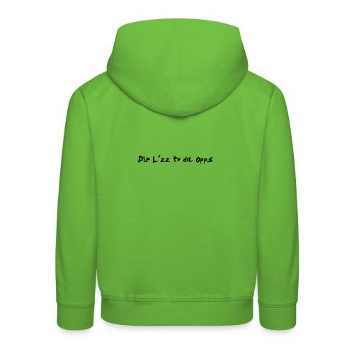 DieL - Premium hættetrøje til børn