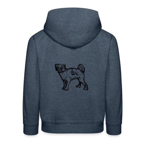 Pug Dog - Kids' Premium Hoodie