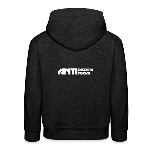 Antifaso_vit - Premium-Luvtröja barn