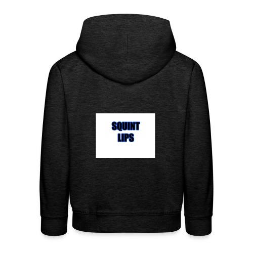 Squint Lips Merch - Kids' Premium Hoodie