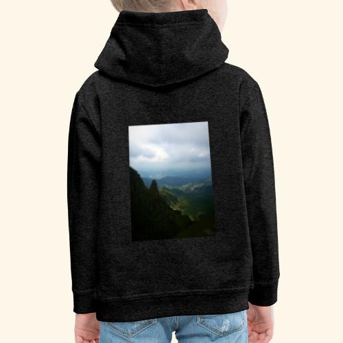 Góry - Bluza dziecięca z kapturem Premium