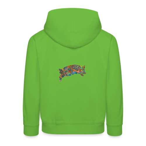 Time for a lucky jump - Kids' Premium Hoodie