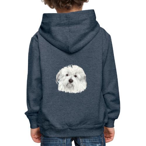 coton-de-tulear - Premium hættetrøje til børn