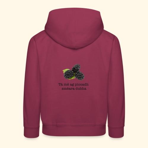 Picking blackberries - Kids' Premium Hoodie