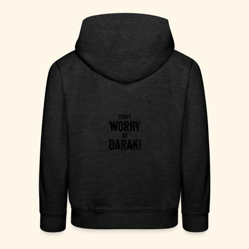 Be Baraki (Noir) - Pull à capuche Premium Enfant