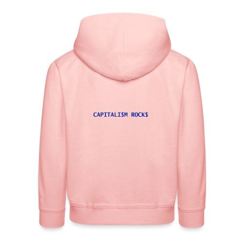 CAPITALISM ROCKS - Felpa con cappuccio Premium per bambini
