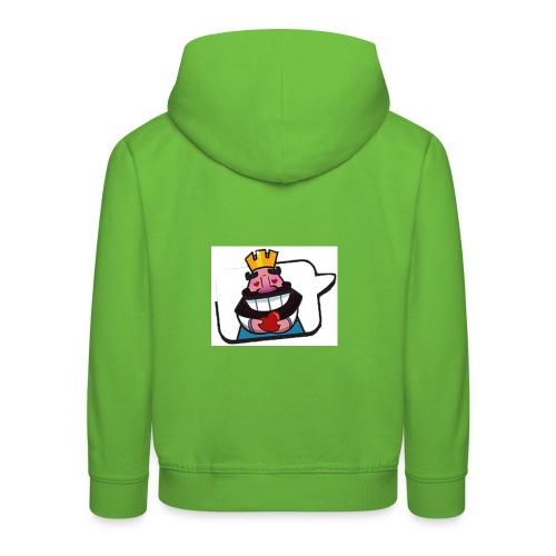 Cartoon - Felpa con cappuccio Premium per bambini