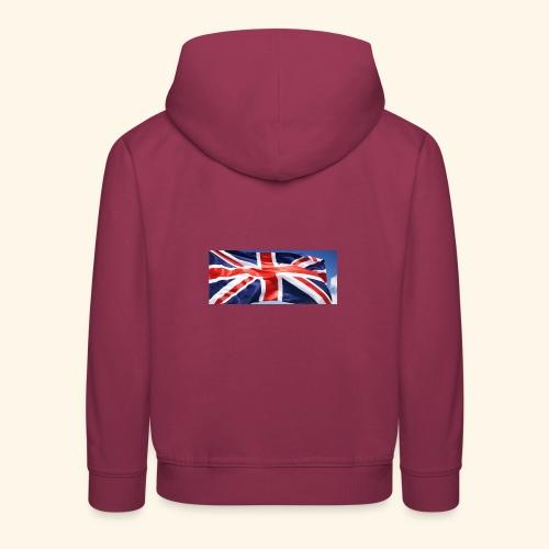 UK flag - Kids' Premium Hoodie