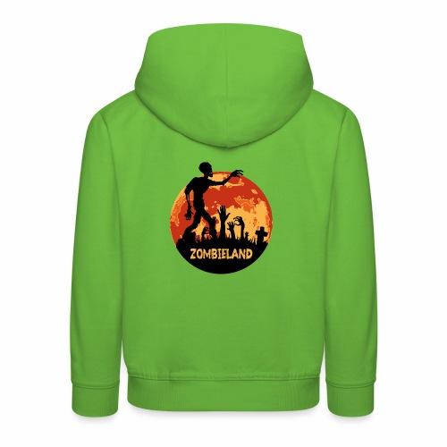 Zombieland Halloween Design - Kinder Premium Hoodie