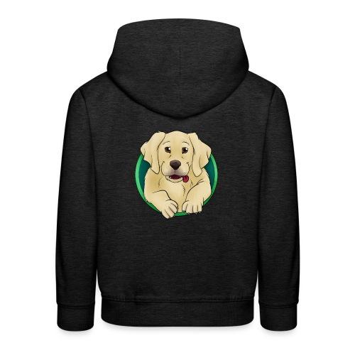 Hunde Portrait - Labrador Welpe - Kinder Premium Hoodie