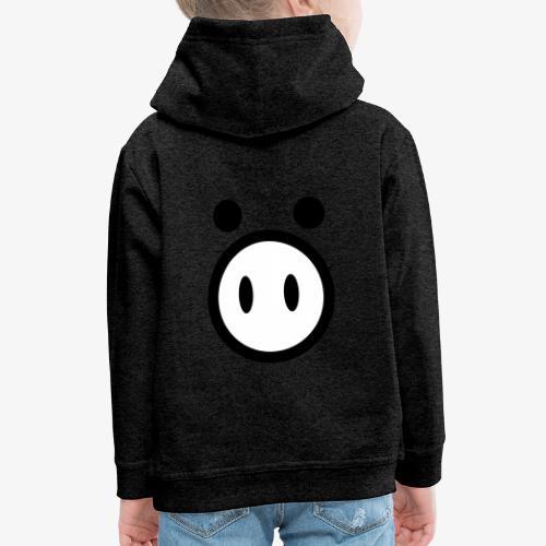 pig - Bluza dziecięca z kapturem Premium