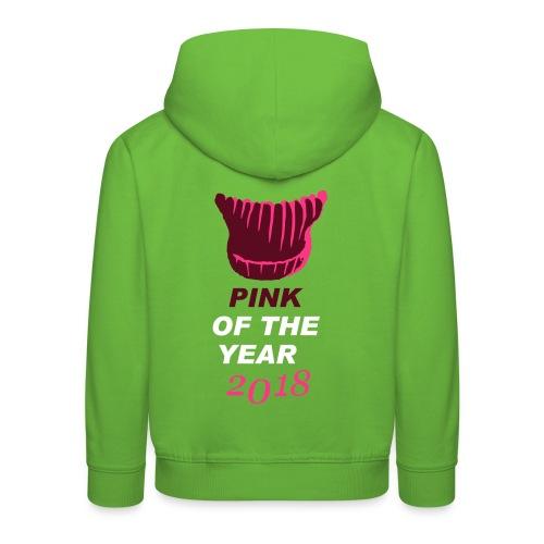 pink of the year 2018 pussyhat - Kinder Premium Hoodie