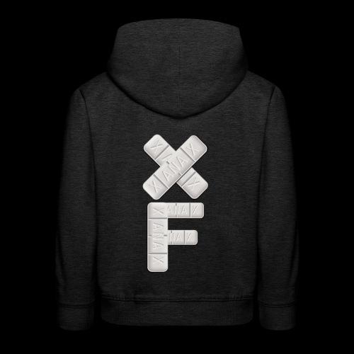 XF Xanax Logo - Kinder Premium Hoodie