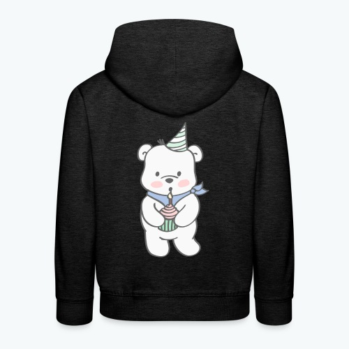 Geburtstagsbär - Kinder Premium Hoodie