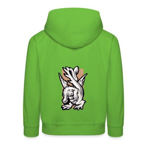 dragolino - Felpa con cappuccio Premium per bambini