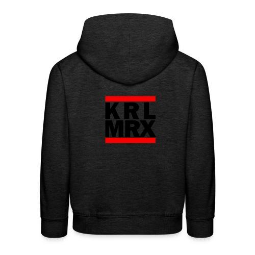 Krl Mrx | Karl Marx | T-Shirt - Kinder Premium Hoodie