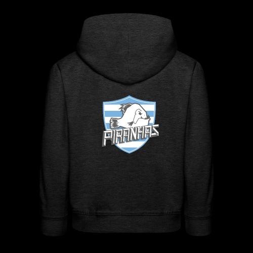 Logo Piranhas v5 - Pull à capuche Premium Enfant