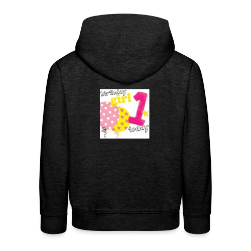 1 today birthday girl - Kids' Premium Hoodie