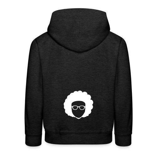 Afro Nerd - nerdy - Kids' Premium Hoodie
