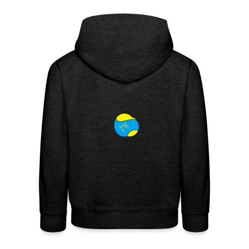 mr hav3rgyn logo - Premium hættetrøje til børn