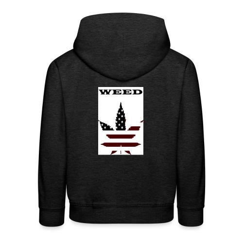 WEED Shirt - Kinder Premium Hoodie