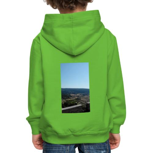 Panorama - Felpa con cappuccio Premium per bambini