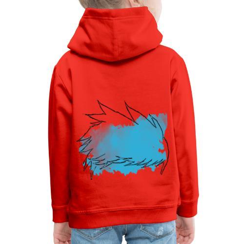 Blue Splat Original - Kids' Premium Hoodie