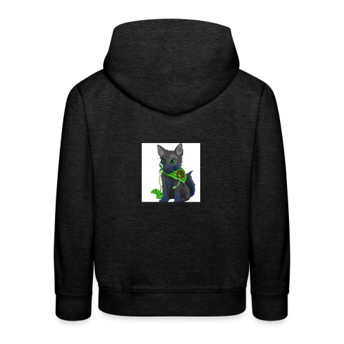 Wolfie Plays Gaming - Kids' Premium Hoodie