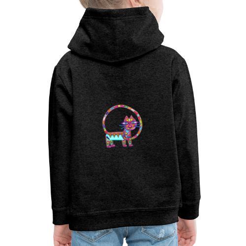 Fiboniccat - Pull à capuche Premium Enfant