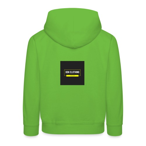 Don kläder - Premium-Luvtröja barn
