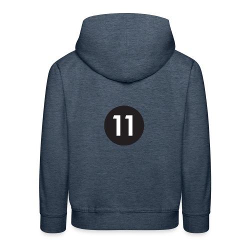 11 ball - Kids' Premium Hoodie
