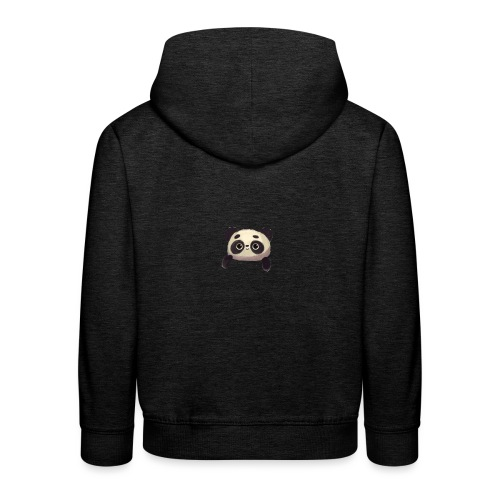 panda logo - Kids' Premium Hoodie