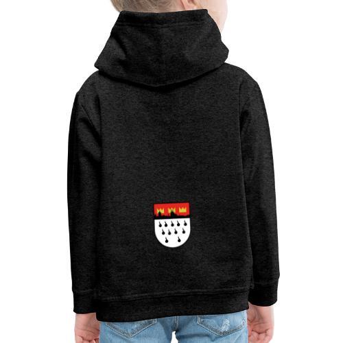 Köln Wappen Modern - Kinder Premium Hoodie