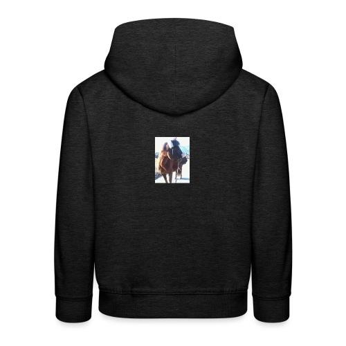 Pferd/Pony Stute - Kinder Premium Hoodie