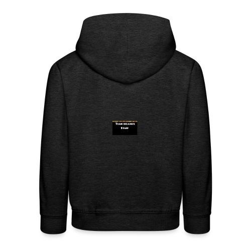 T-shirt staff Delanox - Pull à capuche Premium Enfant