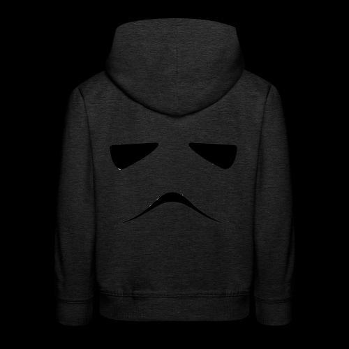 Stormtrooper Face - Kids' Premium Hoodie