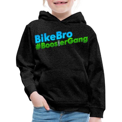 Bikebro #BoosterGang - Premium hættetrøje til børn