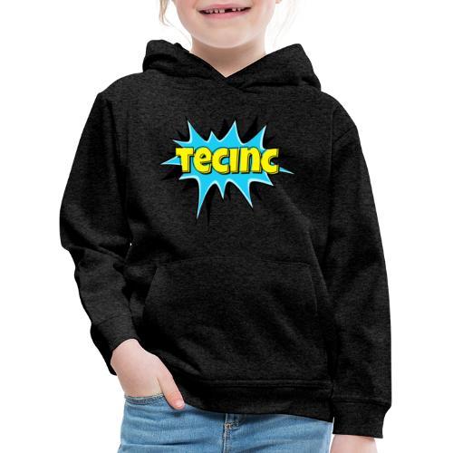 Cartoon logo - Premium hættetrøje til børn