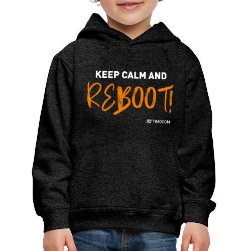 Reboot - Premium hættetrøje til børn