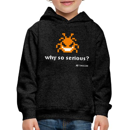 Why so serious - Premium hættetrøje til børn