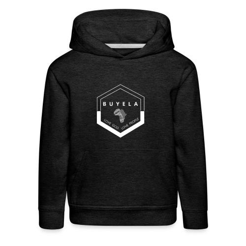 Buyela hexagon - Kinder Premium Hoodie