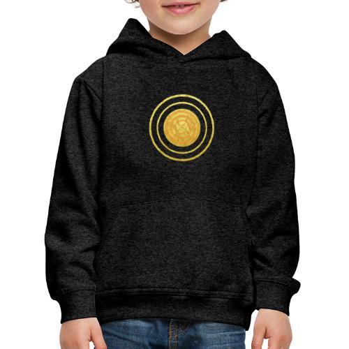 Glückssymbol Sonne - positive Schwingung - Spirale - Kinder Premium Hoodie