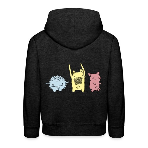 Little Monster friends02 - Kinder Premium Hoodie