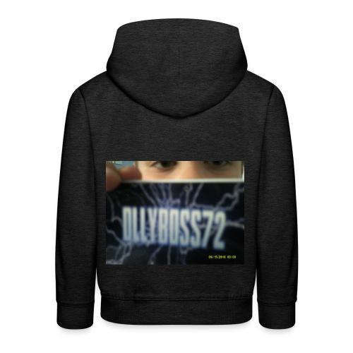 ollyboss72 mug - Kids' Premium Hoodie