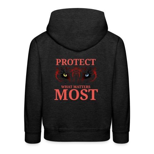 T.Finnikin Designs - Protect - Kids' Premium Hoodie