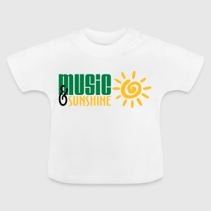 Music and Sunshine - Baby T-Shirt