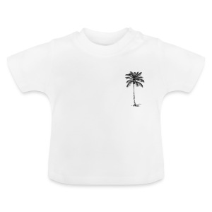 palm bly - Baby-T-shirt
