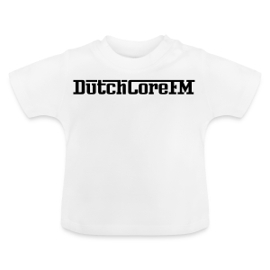 DutchCoreFM Logo Black - Baby T-Shirt