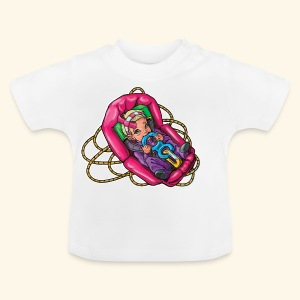 Little baby climber 5 - Baby T-Shirt